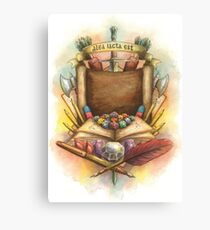 RPG Crest Canvas Print