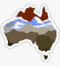 The Great Outback Sticker