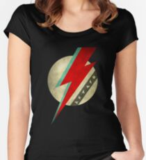 Bowie - Stardust Women's Fitted Scoop T-Shirt