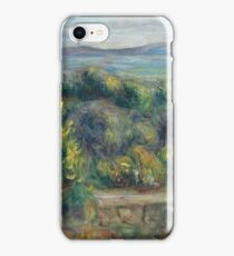 Auguste Renoir - Landscape With Trees In Yellow, 1900 iPhone Case/Skin