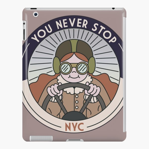 You never stop iPad Snap Case