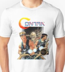 NES Contra Cover (Transparent) V2  Unisex T-Shirt