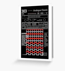 303 Classix Greeting Card