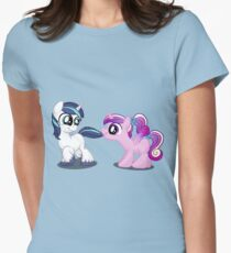 Filly Shining Armor and Princess Cadence Women's Fitted T-Shirt