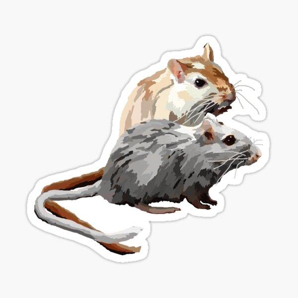 Gerbils Sticker