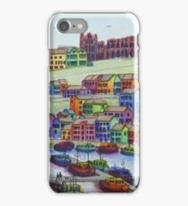Across Whitby Harbour iPhone Case/Skin