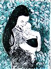 """Etching Chine Colle by Belinda """"BillyLee"""" NYE (Printmaker)"""