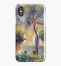 Auguste Renoir - Houses At Cagnes, 1908 iPhone Case/Skin