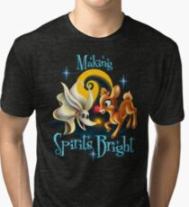 Making Spirits Bright Tri-blend T-Shirt