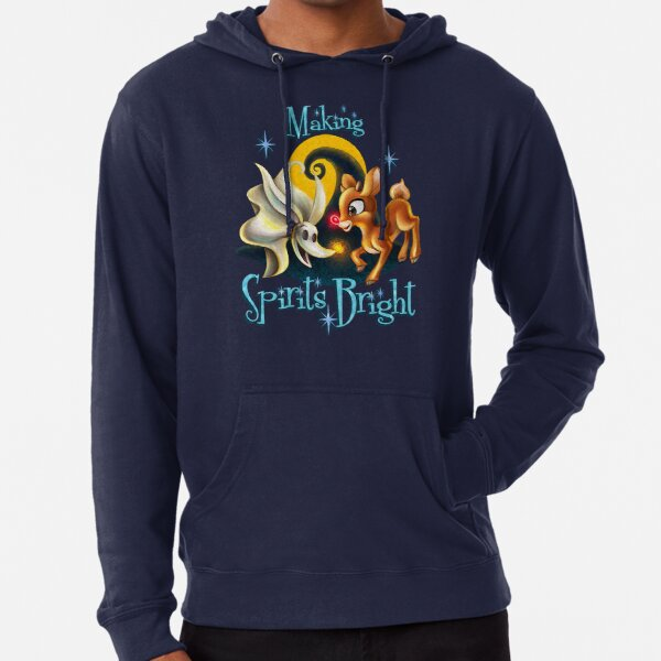 Making Spirits Bright Lightweight Hoodie