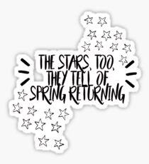 spring awakening  Sticker