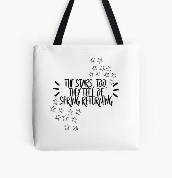 spring awakening  All Over Print Tote Bag