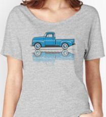 47-54 Chevy Truck light blue Women's Relaxed Fit T-Shirt