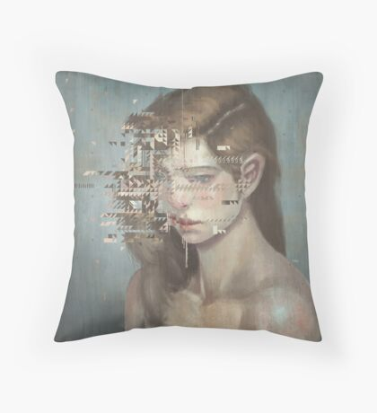 Glitch 03 Throw Pillow
