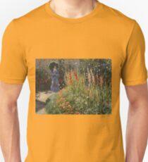 Claude Monet - Gladioli Unisex T-Shirt