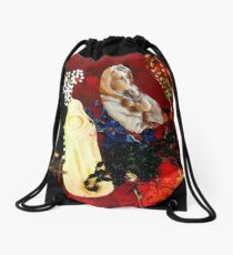 Religious Prayers Drawstring Bag