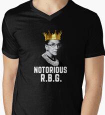 Notorious RBG Men's V-Neck T-Shirt