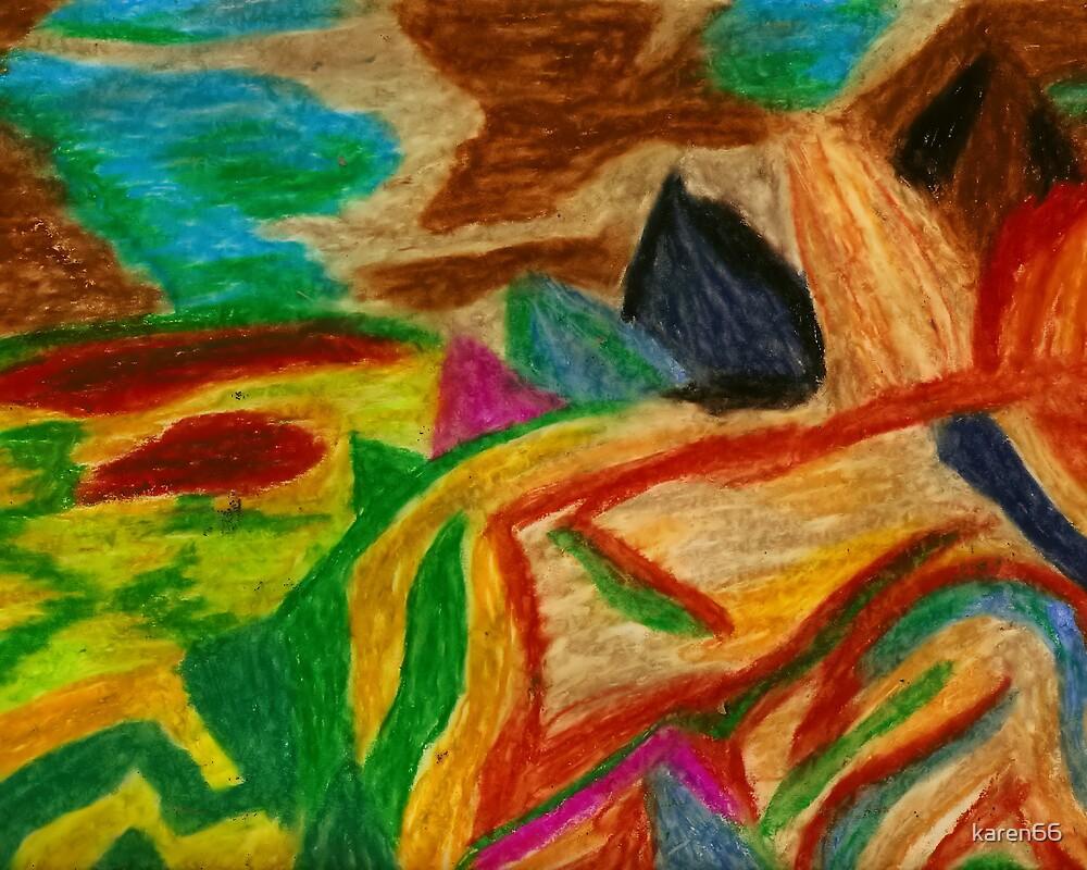 Colors Oil Pastel by karen66