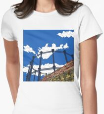 London Regent's Canal Gas Tower Womens Fitted T-Shirt