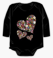 Whimsical Spring Flowers Valentine Hearts Trio Kids Clothes