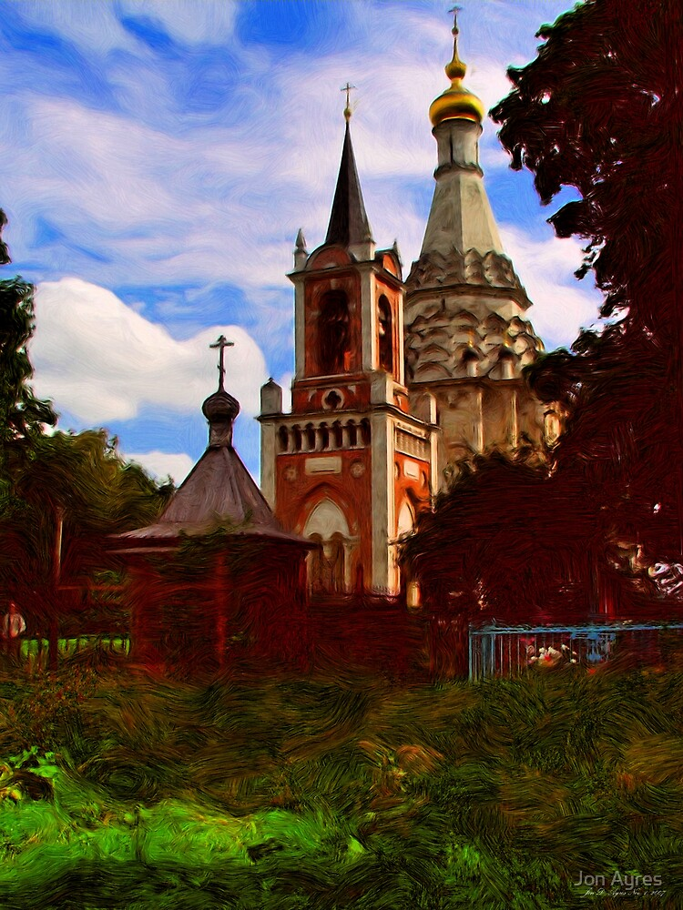 Old Russian Country Church1 by Jon Ayres