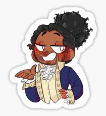 Lafayette! Sticker