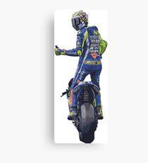 Valentino Rossi, moto gp Canvas Print