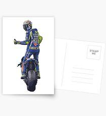 Valentino Rossi, moto gp Postcards