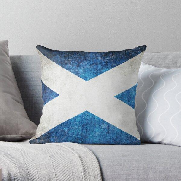 Vintage Schottland Flagge Dekokissen