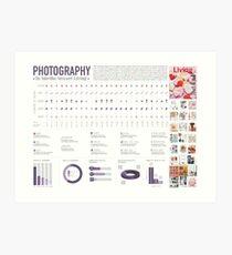 Infographics Art Print