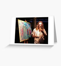 T.O.L.A  Theatre Of Life Artistry Greeting Card