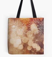 Fireworks at New Year Tote Bag