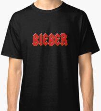 Justin Bieber - Metal Logo Classic T-Shirt
