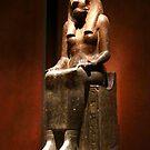 Statue of Sekhmet by annalisa bianchetti