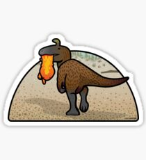 Cryolophosaurus Sticker