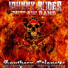 CD Cover Art - Johnny Rodes Outlaw Band: Southern Etiquette by COGgraphix