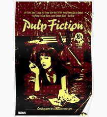 Pulp Art Poster