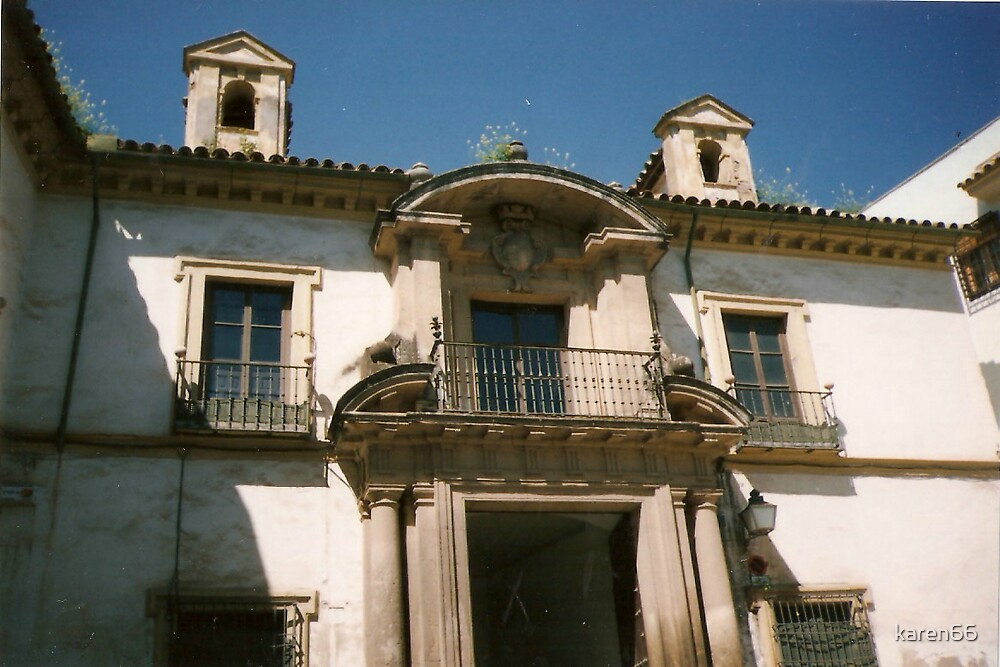 Spanish Building Another One by karen66