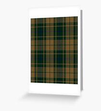 Confederate Infantry Military Tartan  Greeting Card