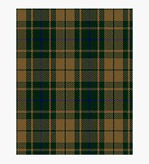 Confederate Infantry Military Tartan  Photographic Print