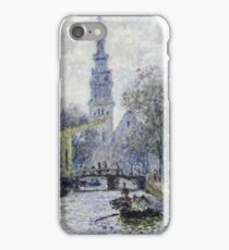 Claude Monet - Canal, Amsterdam iPhone Case/Skin