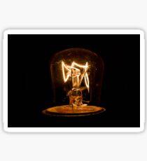 electric light bulb Sticker