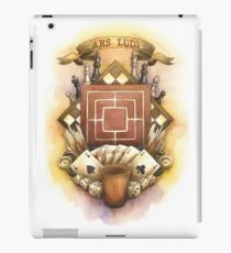 Old School Board Game Crest iPad Case/Skin