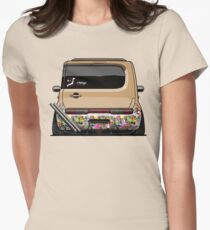 Nissan Cube JDM Womens Fitted T-Shirt