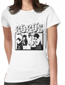 The Go Go's Womens Fitted T-Shirt
