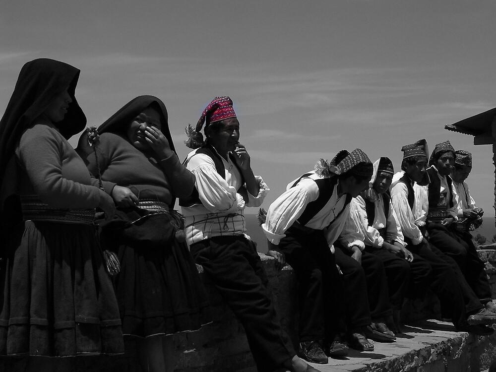 Lake Titikaka natives by ioandavies