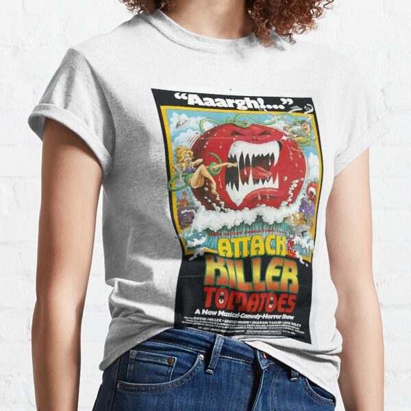 Attack of The Killer Tomatoes. Classic T-Shirt
