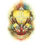New School Board Game Crest by AnnimelArt