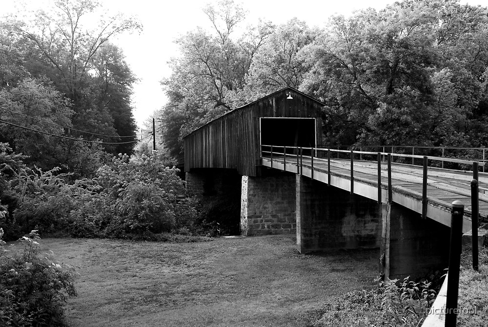 Euharlee Covered Bridge by picturefool