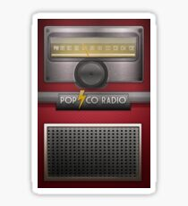 Vintage Radio Sticker